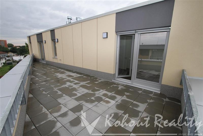 Exklusivní novostavba 3+1(95m2)+terasa 35m2+garážové stání, Praha 3, ulice Olgy Havlové