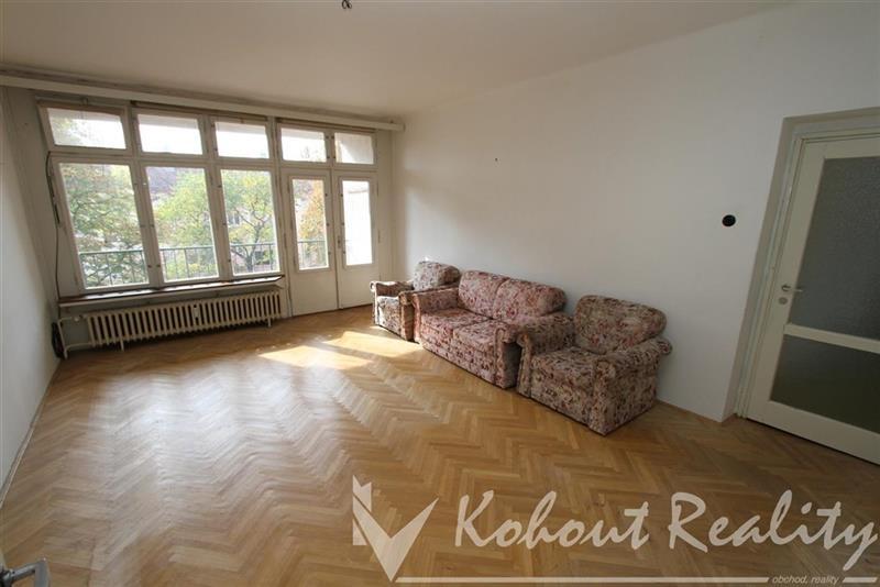 Exklusivní, slunný, cihlový, OV, byt 3+1+terasa+balkon, 84m2, P10, Strašnice