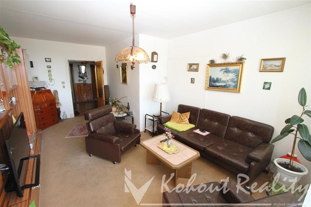 Exklusivně slunný, klidný, družstevní byt 3+1/L, 84m2, Praha 3, Jarov