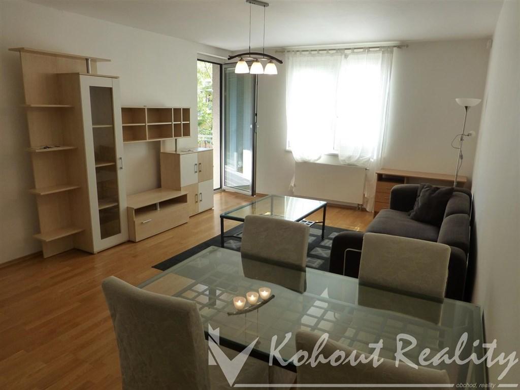 Exklusivní byt 2+KK/T, 62m2/6m2 včetně garážového stání, P-5, Smíchov, ulice Karla Engliše